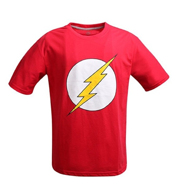 OFFICIAL DC COMIC FLASH TEE SHIRT SIZE LARGE